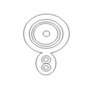 Koaksijalni kabl  SP-9003-100B 100M Black