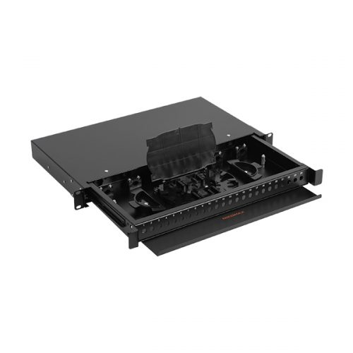 Optički Peč Panel  NMF-RP24FC-TS-P-1U-BK